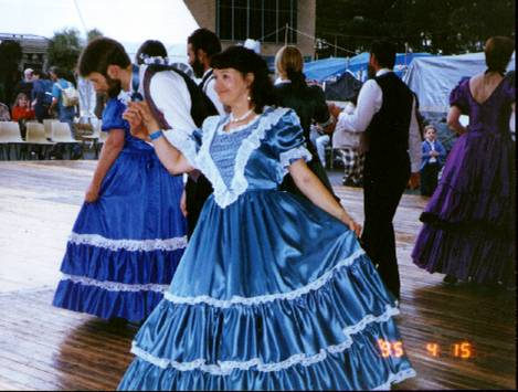 National Folk Festival Dance Display 1995