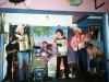 Margot playing with the Moonee Valley Drifters at the Rainbow Hotel