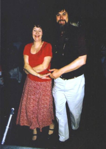 Teaching Cajun Dancing with Ray Simpson
