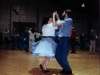 Margot Cajun dancing with Brian Hickey