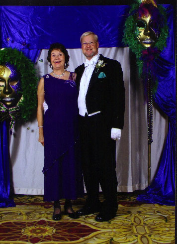 Margot at Mardi Gras Ball