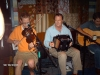 Ray Abshire on accordion and Courtney Granger at Blue Moon Saloon